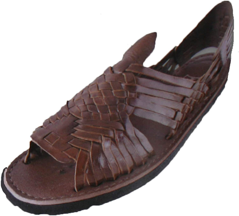 Bonus Mexican Sandals Men's Huarache Sandals -Leather Huarache Sandal