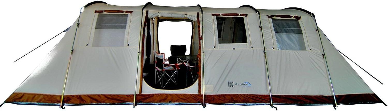 Skandika Zelt Casablanca, 700x400 cm Sport & Freizeit on