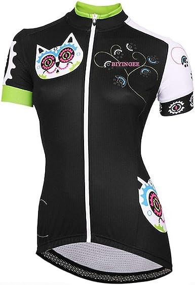 BEROY Women/'s Short Sleeve Cycling Jersey