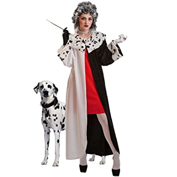 The Best Costume - Cruella De Vil Adult Costume.  sc 1 st  Amazon UK & The Best Costume - Cruella De Vil Adult Costume.: Amazon.co.uk: Toys ...