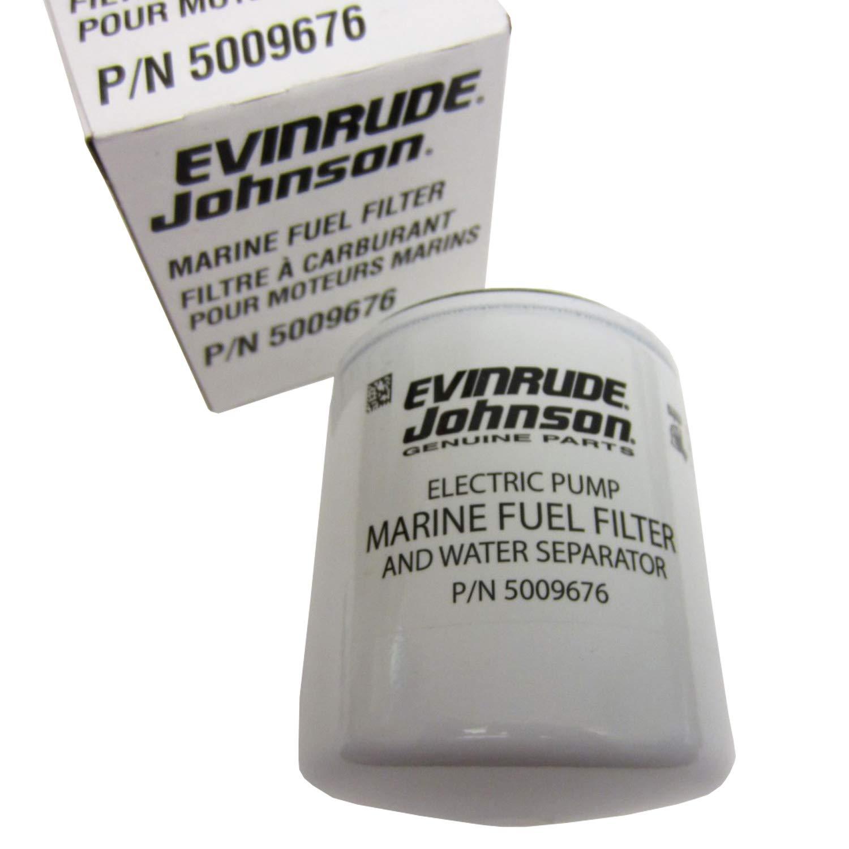 Amazon.com: OEM Evinrude Johnson BRP Fuel Filter/Water Separator Kit, 10  Micron - 502906: Sports & Outdoors
