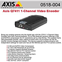 AXIS 0518-004 / Q7411 H.264 Main and Base Profile