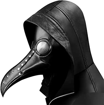 Steampunk plague doctor mask Long Nose Beak Cosplay Halloween Mask