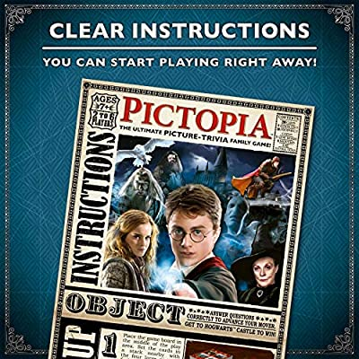 Wonder Forge Ravensburger Pictopia: Harry Potter Edition Family Trivia Board Game For Kids & Adults Age 10 & Up - Perfect Gift for Any Harry Potter Fan!: Toys & Games