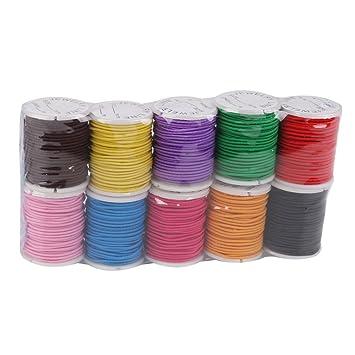 5 Meter elastischer Nylonfaden 1mm in verschiedenen Farben