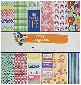 American Crafts Amy Tan Better Together 12 X 12 Inch 48 Sheet Paper Pad