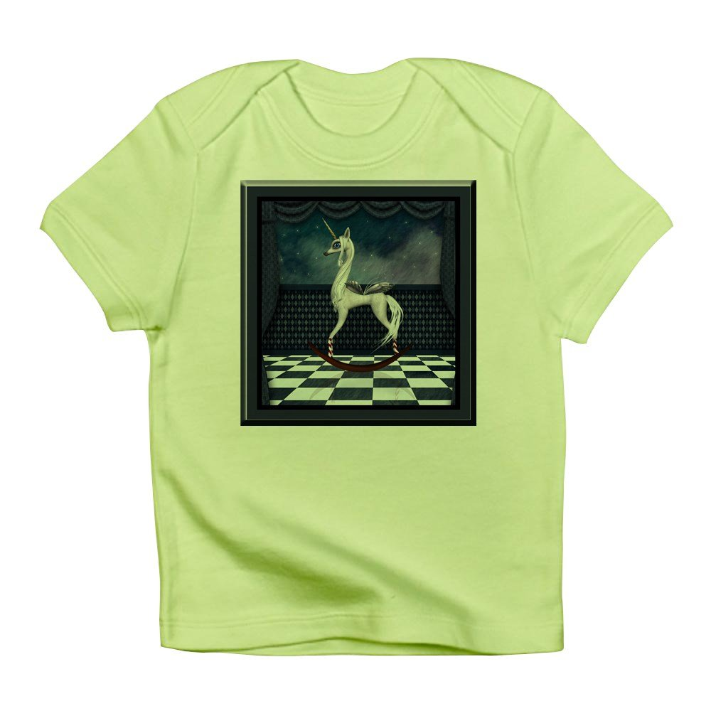Truly Teague Infant T-Shirt Rocking Unicorn Kiwi 18 To 24 Months