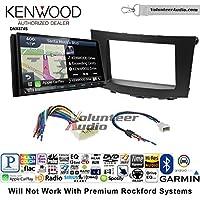 Volunteer Audio Kenwood DNX874S Double Din Radio Install Kit with GPS Navigation Apple CarPlay Android Auto Fits 2010-2013 Suzuki Hizashi