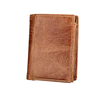 Kreditkartenetui Leder Multifunktional Geldbörse Mit Fenster