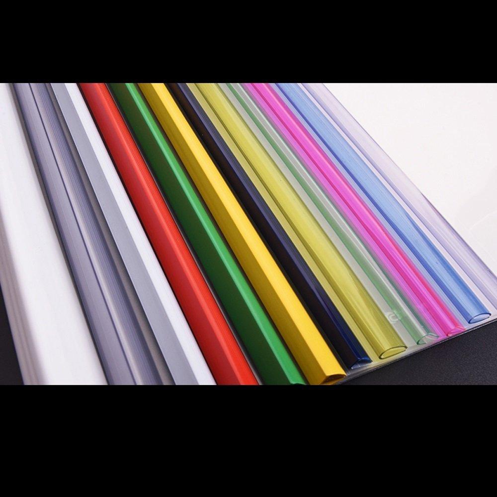 30 Bolsillos de tamaño artículos de Carpeta, tamaño de A4, Transparente (Color : Rojo) d1c9e8