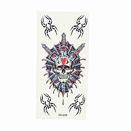 Move & Moving (TM) decorative arañas esqueleto cabeza patrón de ...