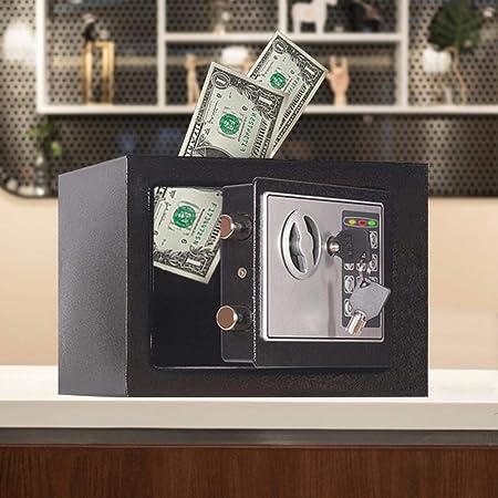 juman634 Mini ATM Código de Banco de Dinero electrónico Hucha electrónica Caja de Monedas en Efectivo para niños Juguete de Regalo de cumpleaños de Navidad: Amazon.es: Hogar