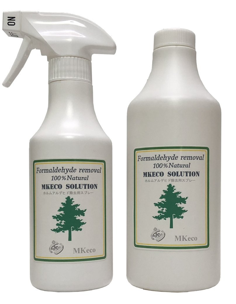 MKeco Formaldehyde Removal Solution 300/500 Set by MKeco