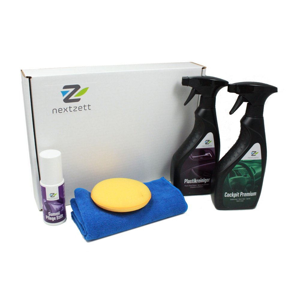 nextzett 400010 Interior Car Care Kit (5-Piece) einszett
