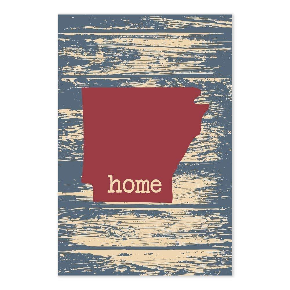 Arkansas Map Art Print Home Decor Wall Art Poster