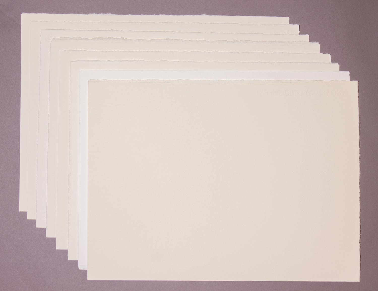 Saunders Waterford Watercolour paper Trial Pack, 8 Sheets Teaching Art
