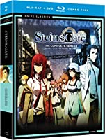 Steins;Gate: The Complete Series (Anime Classics) [Blu-ray + DVD] [Importado]