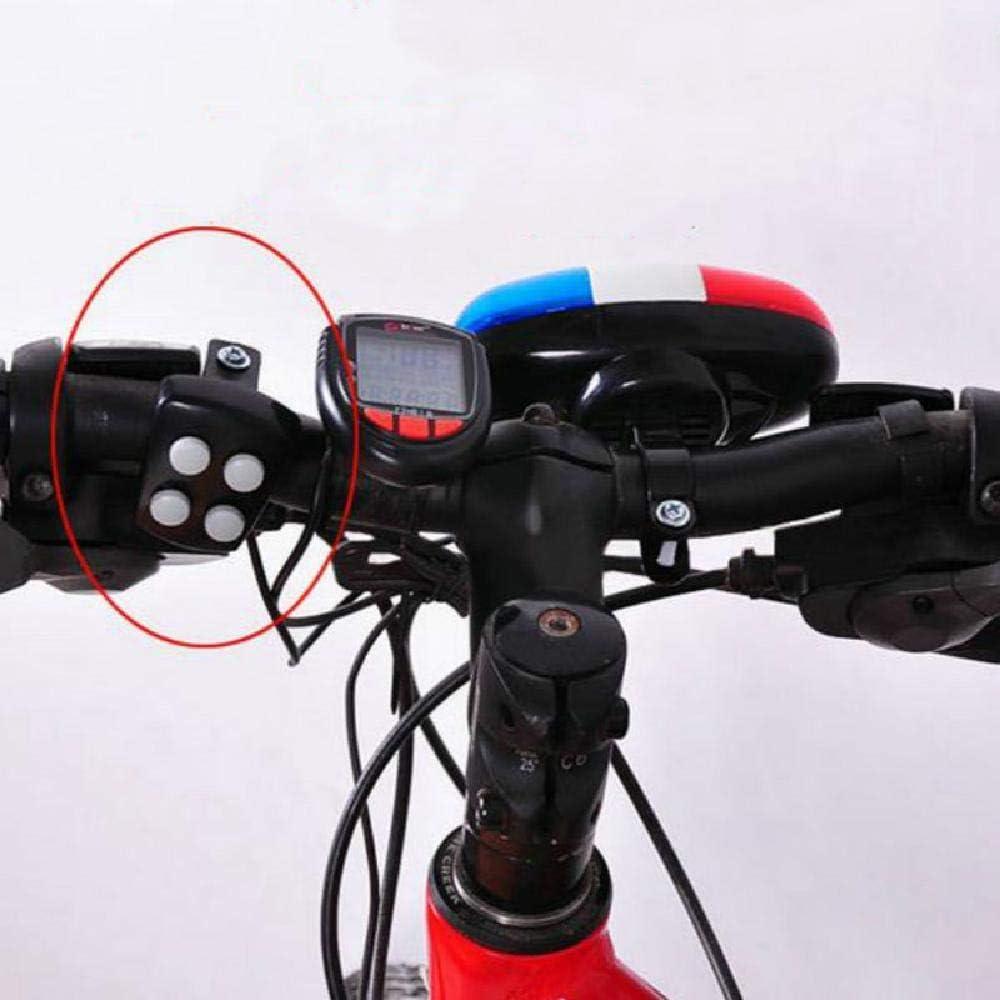SSDAOO Bicicleta de la Bici 4 Sonidos 6 LED del Coche policía de ...