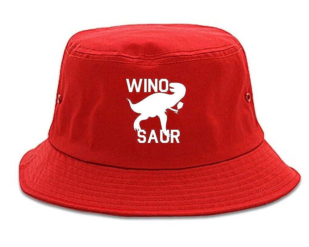 52f2a614 Wino Saur Winosaur Dinosaur Bucket Hat 1FIGBULKBH-2999