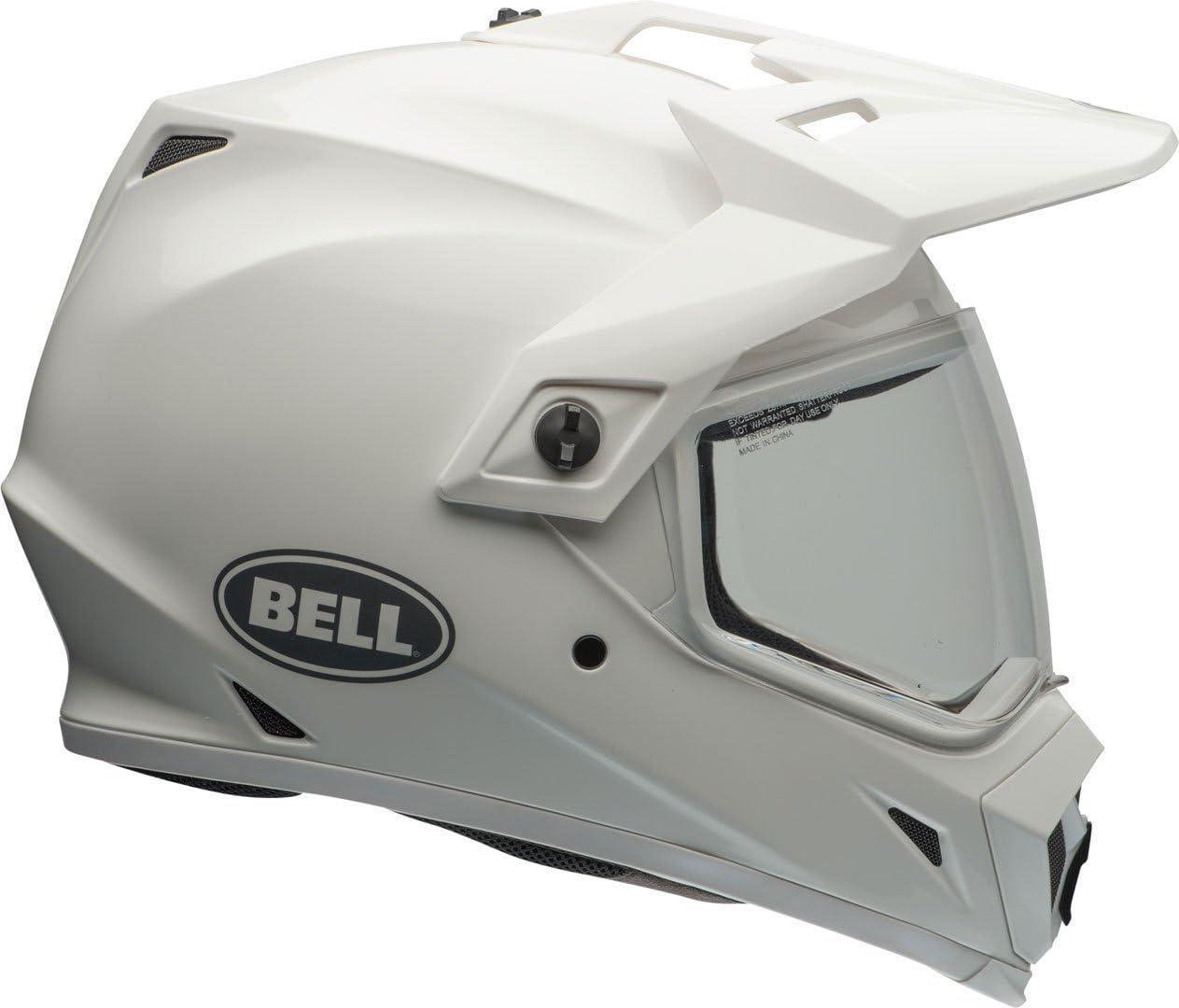 Bell Mx 9 Adventure Mips Solid White Größe Xxl Auto