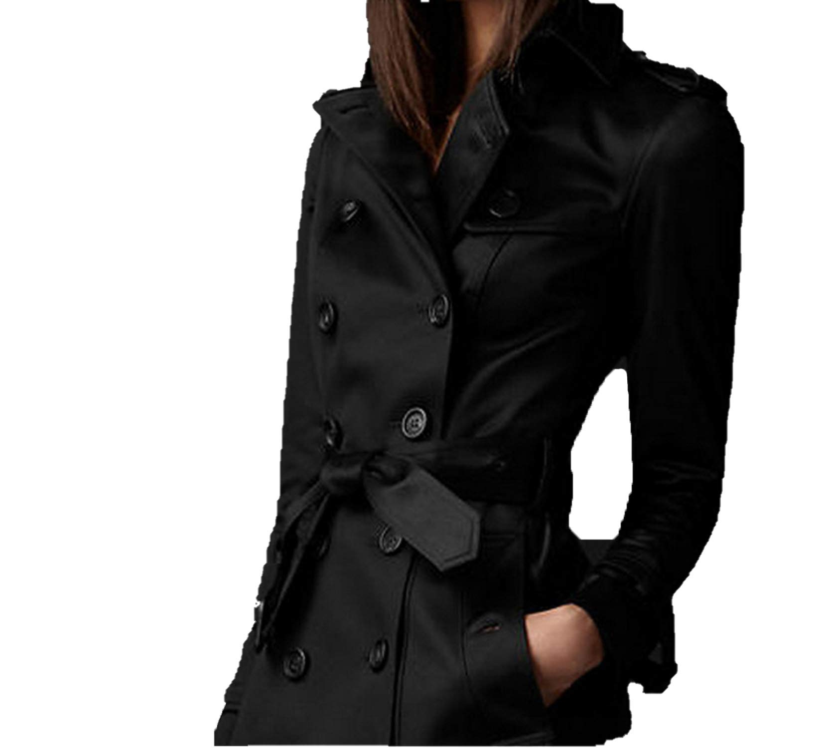 HaHapo Autumn Women Trench Coat Long Windbreaker Europe America Fashion Trend Double Breasted Slim Long