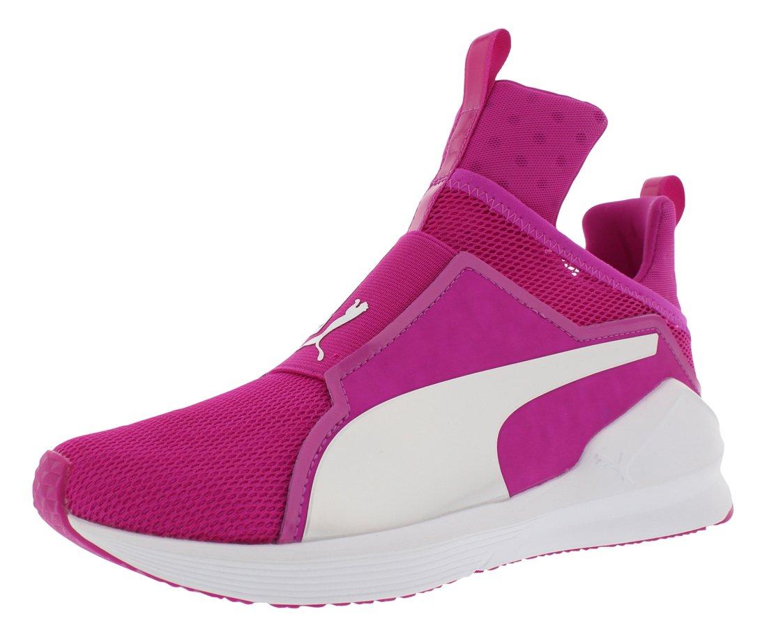 PUMA Women's Fierce Core Cross-Trainer Shoe, Ultra Magenta White, 7 M US