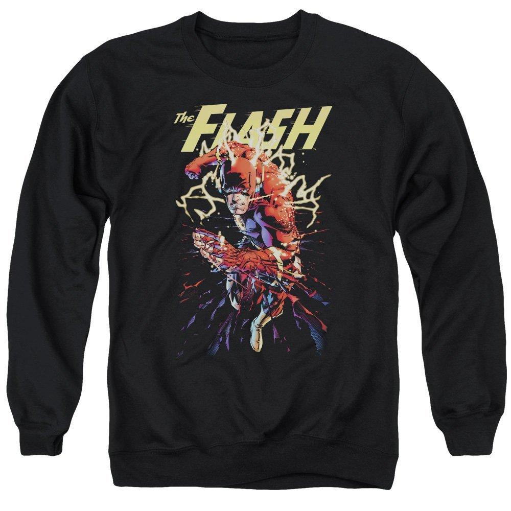 Justice League of America Ripping Apart Adult Crewneck Sweatshirt