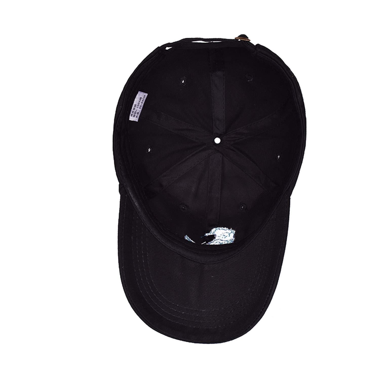 425086727bb Cap Waves Embroidery Snapback Cap Cotton Baseball Cap for Men Women Hip Hop Dad  Hat Black at Amazon Men s Clothing store