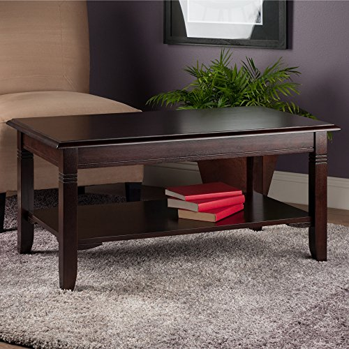 Winsome Wood 40237 Nolan Occasional Table, Cappuccino
