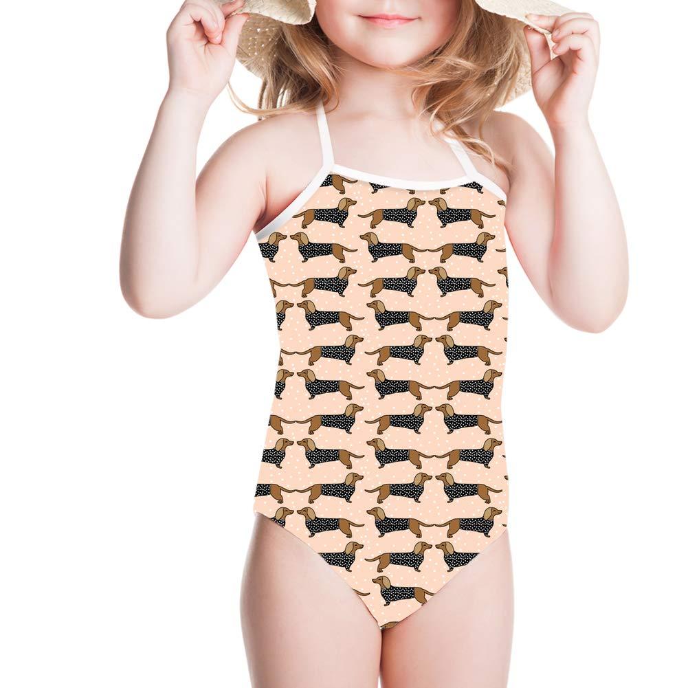 Coloranimal One Piece Swimsuit Hawaiian Style Beach Swimwear Beach Off Shoulder Bathing Suit