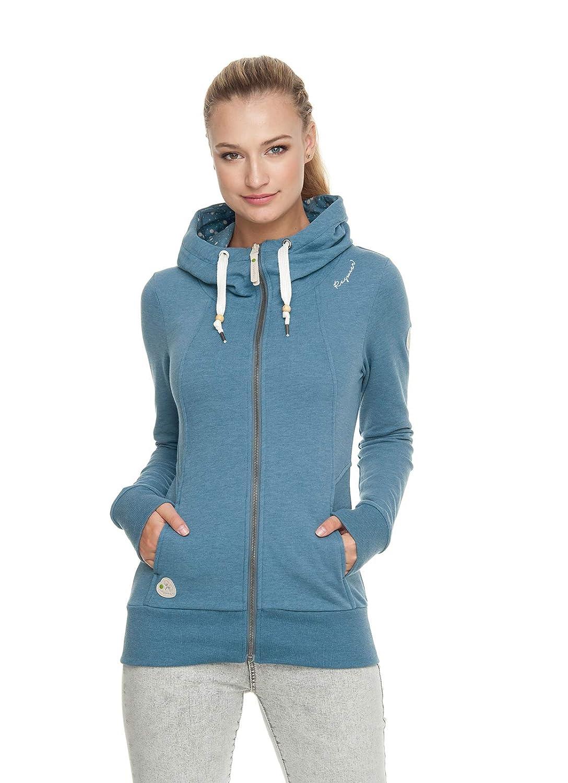 Ragwear LIBERTY ORGANIC ORGANIC ORGANIC Damen,Sweatjacke,Zip Hoodie mit Kapuze,Reißverschluss,vegan B07P8RCKXR Sweatshirts Online-Shop b27e41