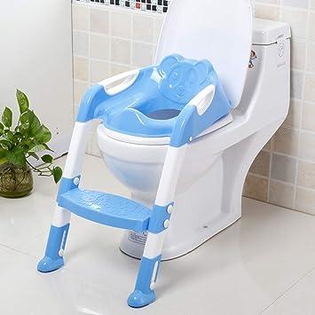 T/öpfchen Kinder,Toilettensitz mit Leiter T/öpfchen Sitz mit Treppe. Toiletten-Trainer