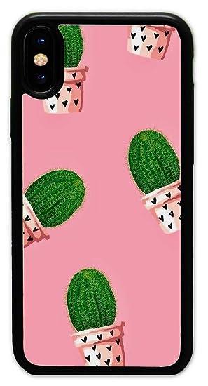 Amazon Com Iphone X Case Custom Cactus Wallpapers Hard Plastic