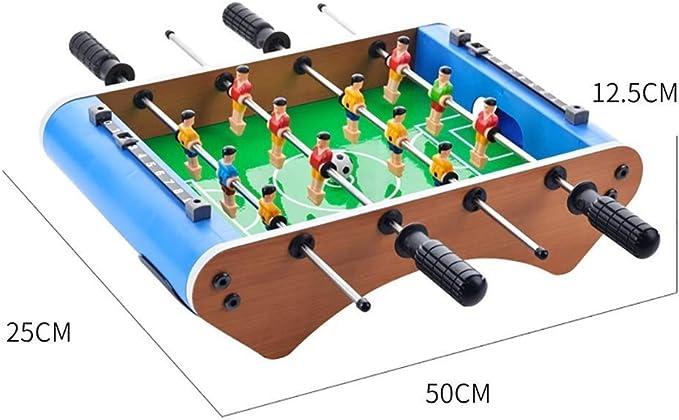 WJMLS Juego de Mesa de fútbol Jugar al fútbol, competición, Sala de Juegos, Deportes, Juguetes para niños, Juego de Rompecabezas Adecuado para 3 años de Edad, Regalo para mesas de niños: Amazon.es: