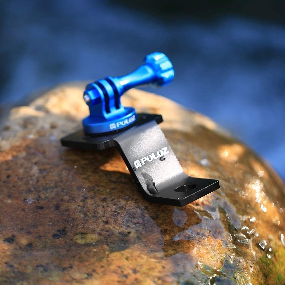GoPro New Hero //HERO7 //6//5 //5 Session //4 Session //4//3+ //3//2 //1 Xiaoyi and Other Action Cameras Hsifeng Aluminum Alloy Motorcycle Fixed Holder Mount with Tripod Adapter /& Screw for DJI New Action