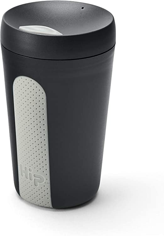 HIP - Taza de café de viaje reutilizable de 12 onzas, inastillable ...