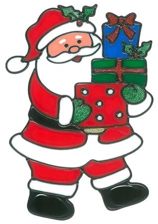 Magicgel Fensterbilder Weihnachten Nikolaus Mit Geschenken 17 X