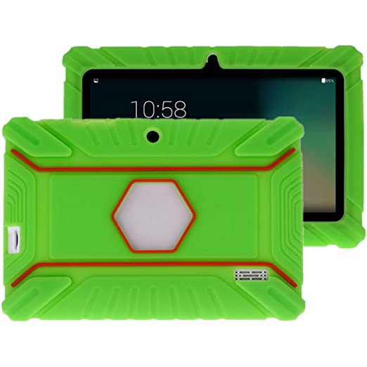 21 opinioni per Fukalu Custodia Protettiva Antiurto in Silicone per Alldaymall A88X 7'' Tablet,