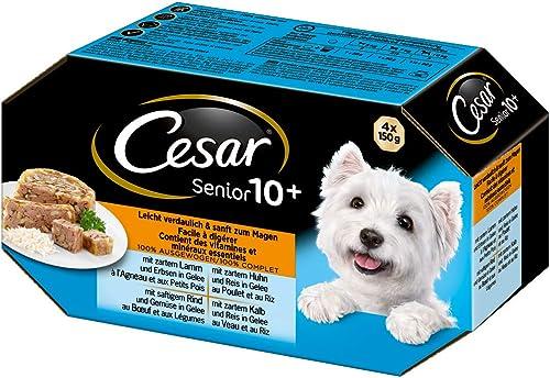 Cesar-Hundefutter-Nassfutter-Senior