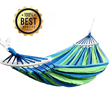 Single Person Parachute Hammock Outdoor Camping Travel Swing Hanging Beds UK