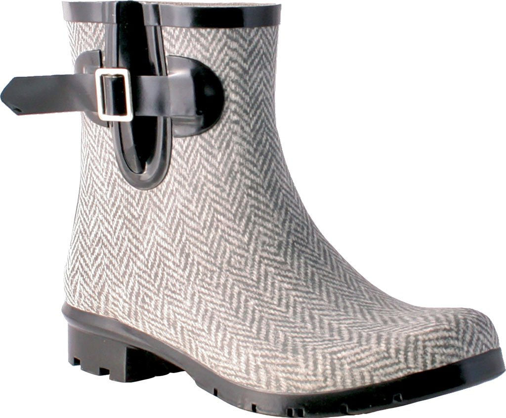Nomad Women's Droplet Rain Boot B06XQHCWSH 11 M US|Grey/White