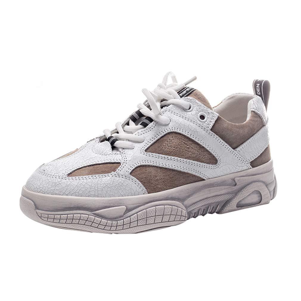 YAN Frauen Turnschuhe Frühjahrspfraktikum Low-Top Casual schuhe Sprots Schuhe Athletic Schuhe Training Schuhe Laufschuhe A 35