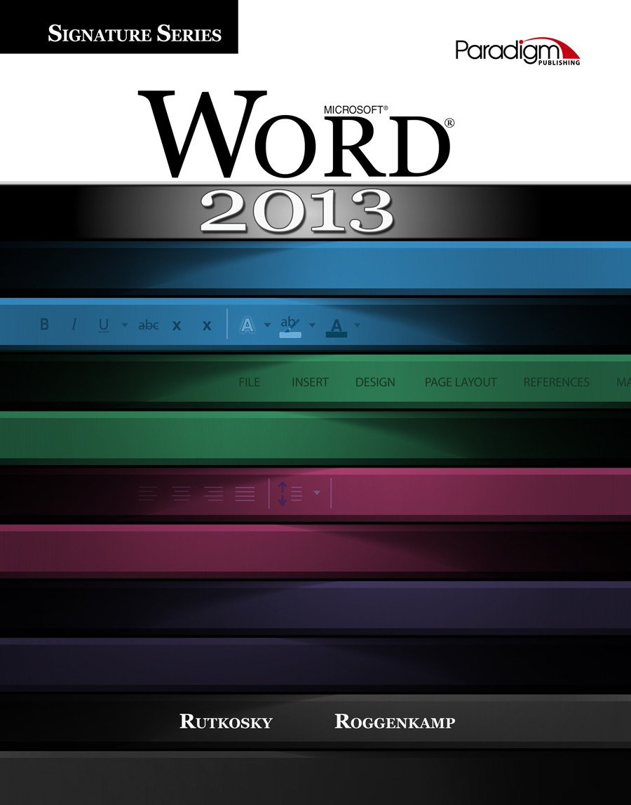 amazon com microsoft word 2013 signature series with out cd rom