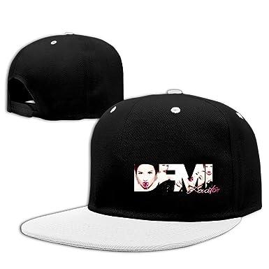 8fb23684649b6 Demi Lovato Sexy Logo Confident Hip-Hop Cap Trucker Hat at Amazon Men s  Clothing store