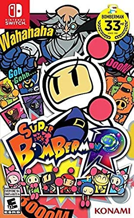 Amazon.com: Super Bomberman R - Nintendo Switch: Konami of America ...