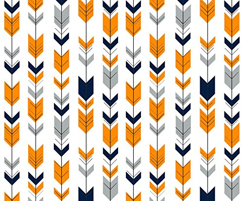 orange sewing fabric - 3