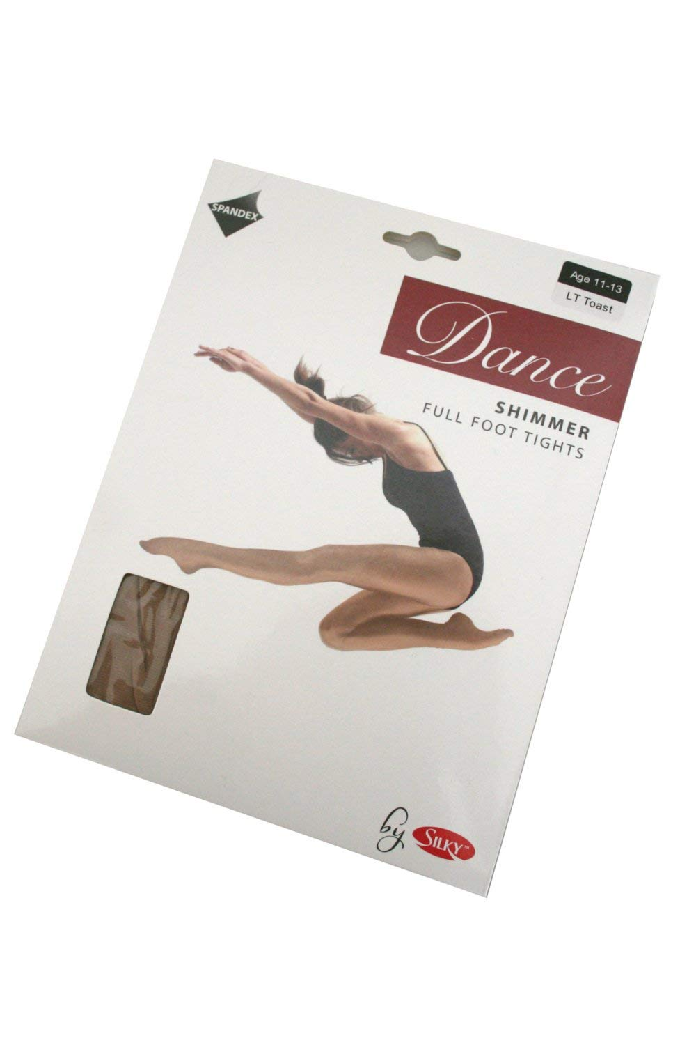 dd2a0167b67bd Silky Girl's 1 Pair Dance Shimmer Full Foot Tights 5-7 Years Light Toast:  Amazon.ca: Sports & Outdoors