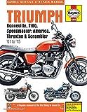 H4364 2001-2015 Triumph Bonneville T100 Speedmaster America Thruxton Scrambler Motorcycle Repair Manual