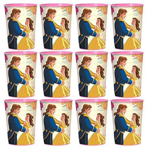 Disney Beauty and the Beast Big Favor Cups Set of 12 by Design-ware