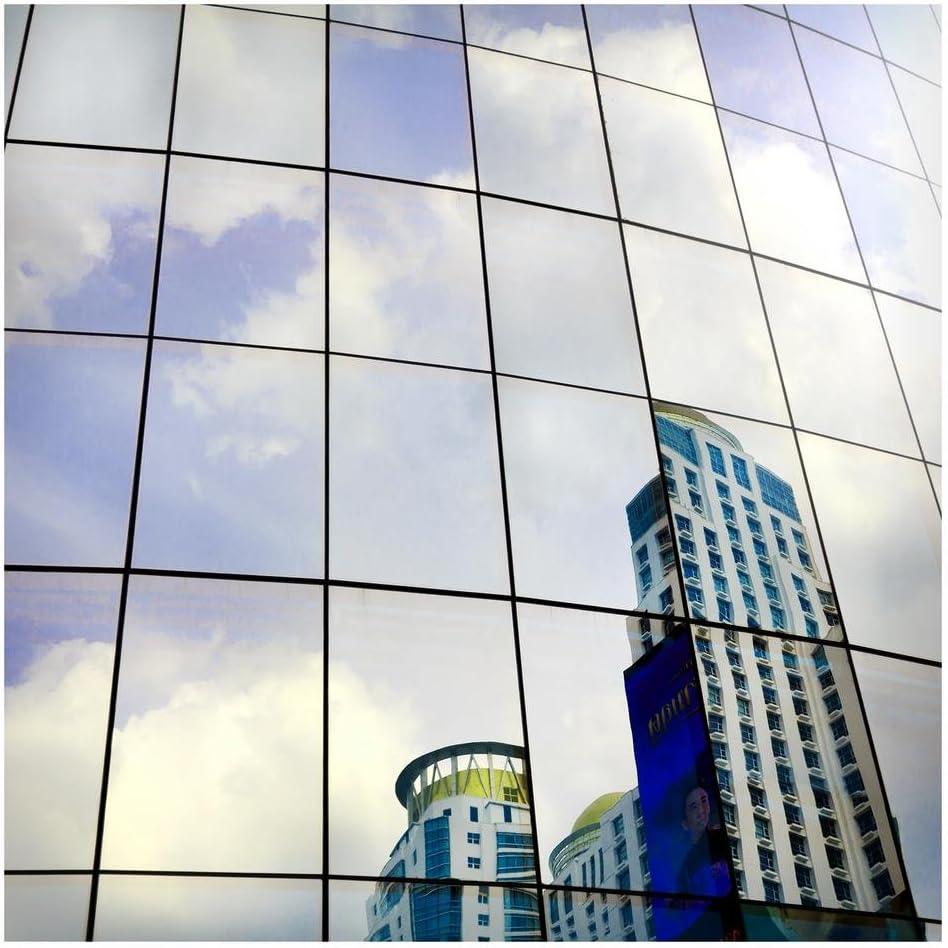 Amazon Com Bdf S05 Window Film Daytime Privacy One Way Mirror Silver 5 36in X 100ft Home Improvement